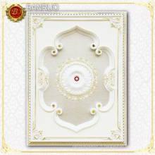 Blanc Beau style artistique de plafond européen pour décoration à la maison (BRD1420-F-024)