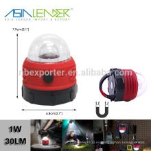 Con el gancho magnético 1W LED Las mejores luces del campo del LED, luz del mini campo LED