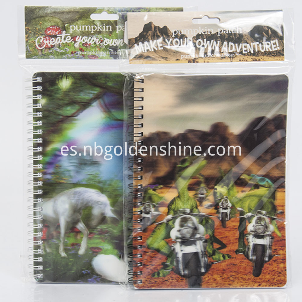 3D Stationery Cover Note book