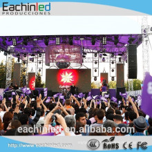 P8 video screen p8 outdoor ultra slim led screen small Outdoor rental LED screen