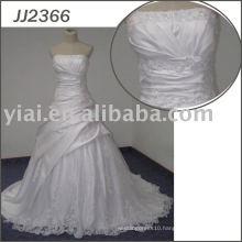 JJ2366 Ball Gown Bling Satin Sexy Wedding Night Dresses
