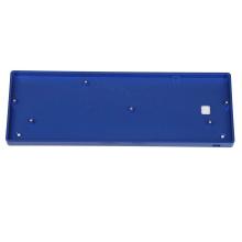 custom 60% aluminum mechanical case keyboard Brass plate