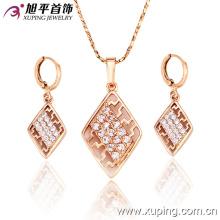 Moda Feminina Jóias CZ Diamante Jóias Set -62452