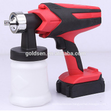 Wireless 18V Lithium Battery Powered Handheld Small Portable Mini HVLP Painting Sprayer Machine Electric Rechargeable Spray Gun