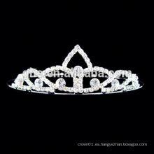 Nueva tiara del pelo del círculo del rhinestone de la venta al por mayor de la manera