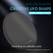 Cargador inalámbrico QI, almohadilla de carga inalámbrica rápida, fácil de dormir y ultra delgada para Samsung S8 / S8 Plus, para iPhone 8/8 Plus / iPhone X