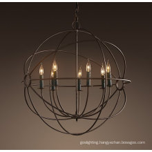 European Ball Iron Pendant Lighting (MD2005-7LRR)