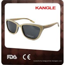 2017 latest designer wooden sunglasses frames