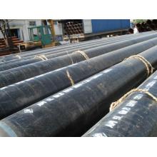 API 3PE Tubería de acero soldada espiral anti-corrosión