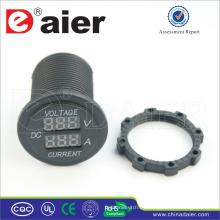 Amperímetro digital Daier y voltímetro Power Out Car 12V DC Socket