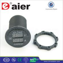 Daier digital ammeter and voltmeter Power Out Car 12V DC Socket