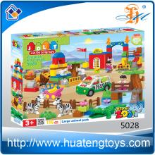 Neue Tierfamilie große Bausteine Spielzeug China Lieferant Spielzeug