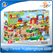 New animal family big building blocks toy China supplier toys