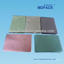 PE Coated Tissue Laminated Dental Bib s