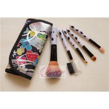 5PCS Spielraum-kosmetische Bürste mit einer bunten Tuch-Beutel