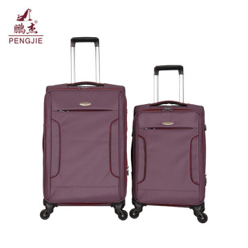 Kain Softside Ritsleting Bagasi Tas Trolley Perjalanan