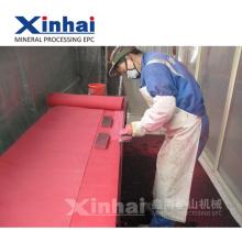 Xinhai-Abnutzungs-Widerstands-Elastizität-industrielle Gummiprodukt-Gruppen-Einleitung