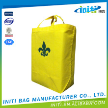 Low price new hot sale canvas shopping bags with wheels