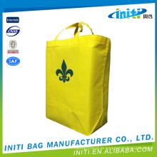 Baixo preço novos sacos de compras quentes da lona da venda com rodas