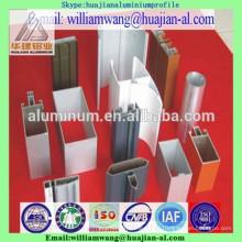 Por el precio del kilogramo, perfil de aluminio de shandong, perfil anodizado negro, compañía del aluminio del linqu del weifang