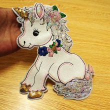 Sequin Applique Sew on Patches Clothing Cartoon
