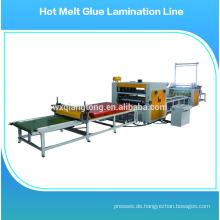 Laminatwalzmaschine / Papierleimmaschine / Heißschmelzklebemaschine