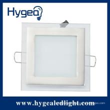 Panel indoor light led panel 6W square led thin glass panel