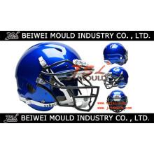 Fabricant en plastique adapté aux besoins du client de moule de casque de football