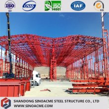 Double Span Certificated Steel Truss Warehouse/Storage Shed