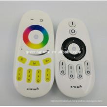 Controlador do diodo emissor de luz do RGB do toque de 2.4G RF conduziu o controlador do diodo emissor de luz da temperatura do redutor