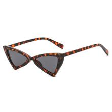 Sexy Vintage Schwarz Weiß Schildpatt Cat Eye Sonnenbrillen für Frauen Sonnenbrillen Frauen