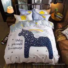 Neuer Entwurfs-Polyester-Druckbett-Blattgewebe für Kinder