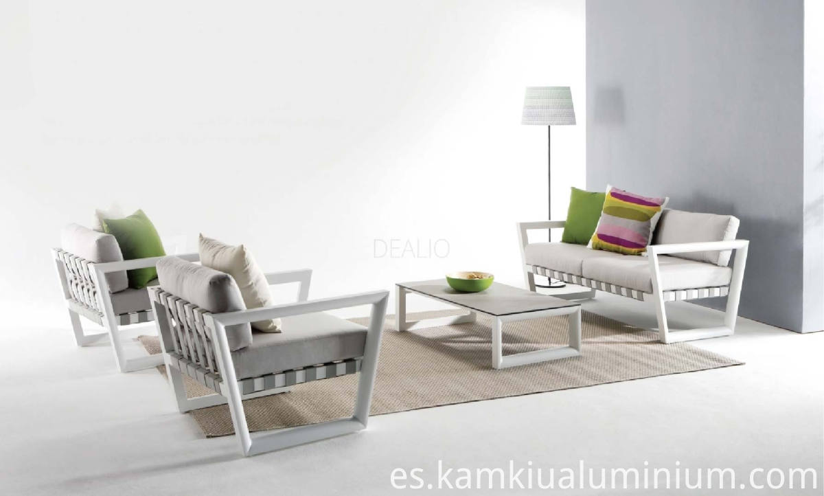 Aluminium Furniture without deformation
