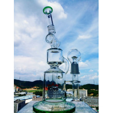 Birdcage Percolator Glass Pipe Smoking Water Pipe with Factory Price