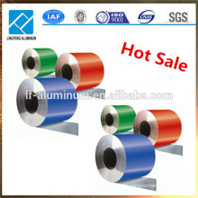 Different color of color coated aluminum coil for decoration