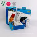 Boîte de papier d'emballage de carton ondulé de carton de produit électronique de haute qualité fait sur commande