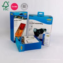 Пользовательские Высокое Качество Электронных Продуктов Коробка Коробки Гофрированной Бумаги Картона Упаковывая
