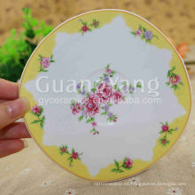 Placas de porcelana defectuosas de porcelana disponibles de diferentes colores