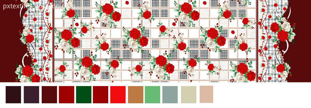 Microfibre Plant Cashmere Fabric