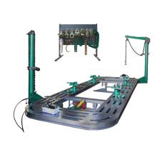 Automatic beam correction instrument car platform depression repair station