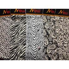 100% cotton jacquard knitting fabric wholesale