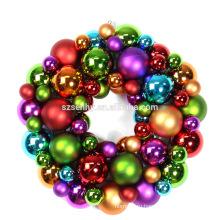 элегантный крытый пластиковый Рождественский венок декоративный