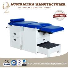 Mesa móvil del tratamiento de la cama del examen de la ginecología para la venta Silla móvil del tratamiento