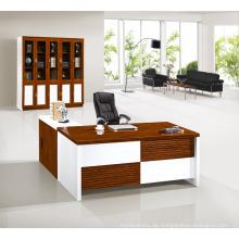 High-End Büromöbel weißen Ecke Manager Chefschreibtisch