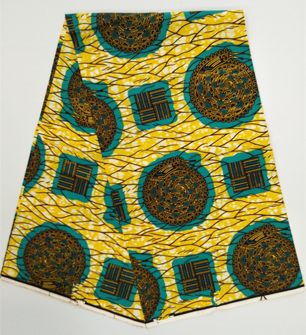 African Wax Cotton Fabric Hollandais Dutch Wax