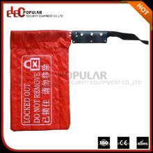 Elecpopular High Quality Crane Controller Lockout Bag com etiquetas de advertência 230mmx400mm
