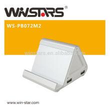 7200mAh Portable Backup Battery Charger.USB Power Bank,Integrated LED indicator show Power status