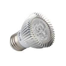 Spot chaud chaud blanc blanc E27 3W LED Spotlight