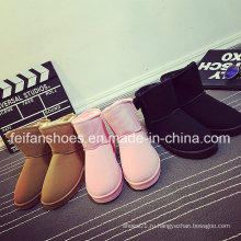 2016 новый дизайн женские ботинки снега высокое качество