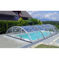 Spring Outdoor Deck Rolling Pool Heizung Abdeckung